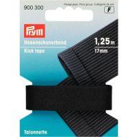 Stootband zwart  prym 900.300 17mm breed