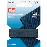 Stootband prym 900.301 17mm breed donker grijs