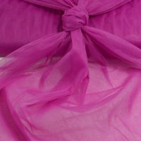 Soft stretch tule cerise kleur 067
