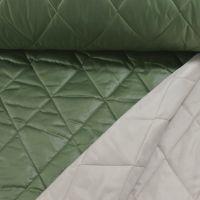 LMV Gewatteerd wieber double face  groen beige La maison victor pre-order tijdelijk uitverkocht leverbaar week ±40