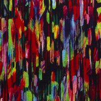 Punta jersey abstract multi colors